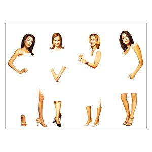 Desperate Housewives. Размер: 40 х 30 см